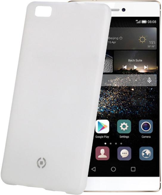 CELLY Frost pouzdro pro Huawei P8 Lite, TPU, 0,29mm - bílá