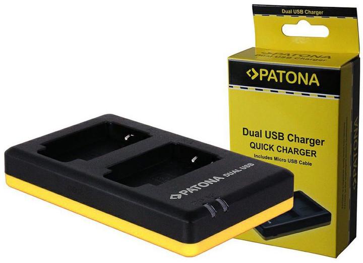 Patona nabíječka pro foto Dual Quick Canon LP-E8 USB