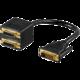 PremiumCord adapter DVI-D (24+1) male => 2x DVI-D (24+1) female