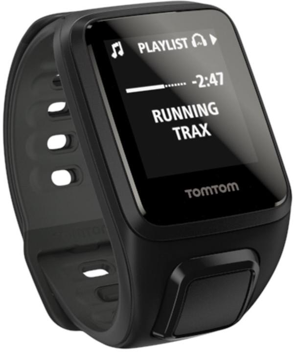 TOMTOM Spark Fitness Cardio + Music (S), černá