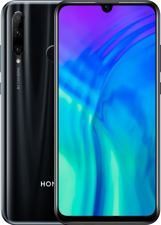 Honor 20 lite, 4GB/128GB, Black