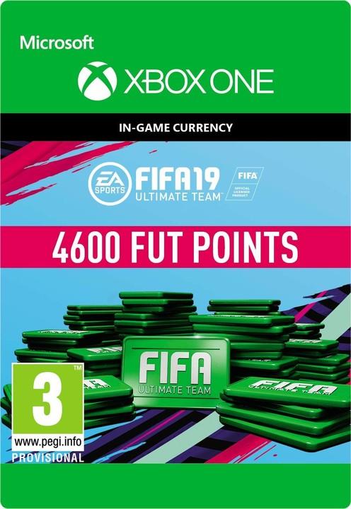 FIFA 19 - 4600 FUT Points (Xbox ONE) - elektronicky