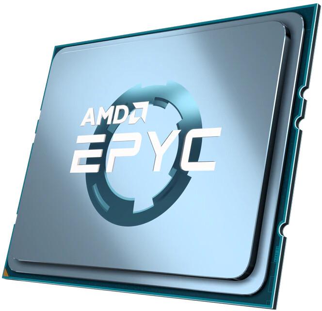 AMD EPYC 7543P, tray