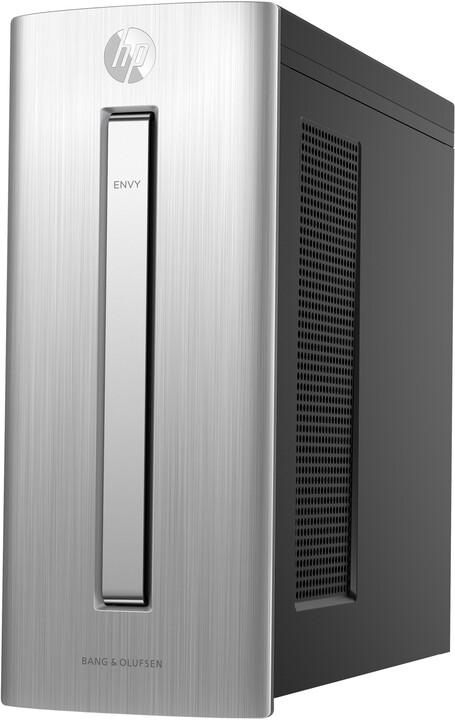 HP Envy 750-450nc, stříbrná
