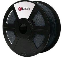 C-TECH tisková struna (filament), PLA, 1,75mm, 1kg, šedá - 3DF-PLA1.75-DG