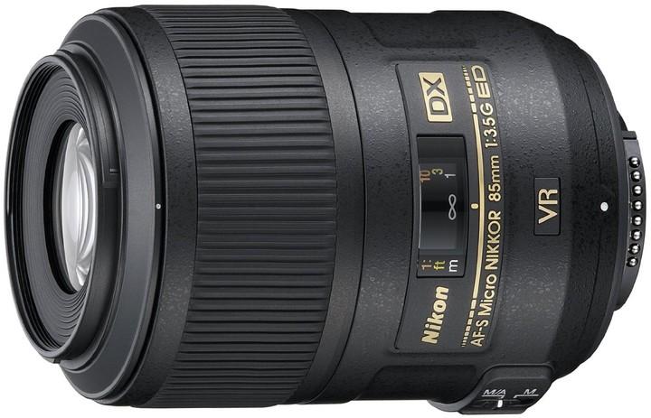 Nikon objektiv Nikkor 85mm f/F3.5G Micro AF-S DX