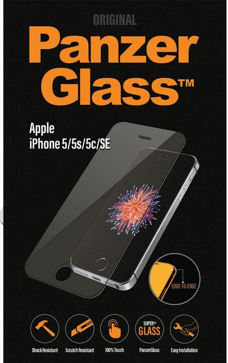 PanzerGlass Edge-to-Edge Privacy Apple iPhone 5/5s/SE, černé