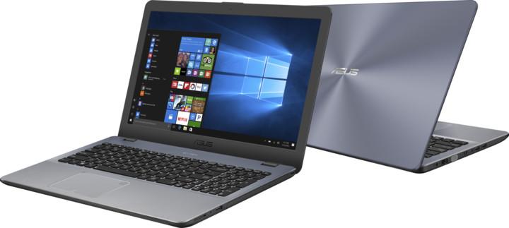 ASUS VivoBook 15 X542UF, stříbrná