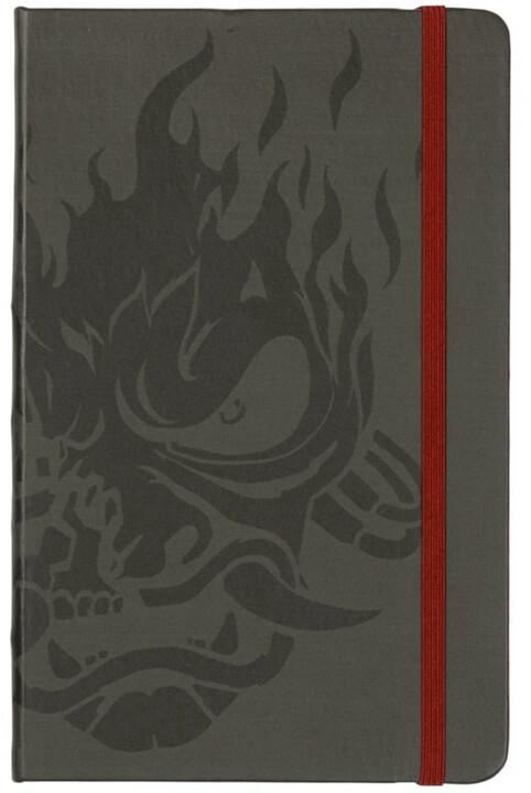 Zápisník Cyberpunk 2077: Dark Samurai, linkovaný (A5)