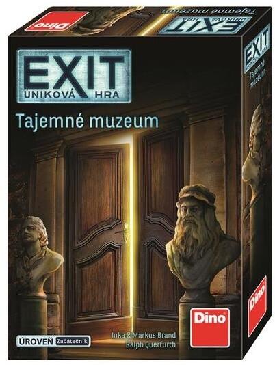 Desková hra Dino Exit úniková hra: Tajemné muzeum