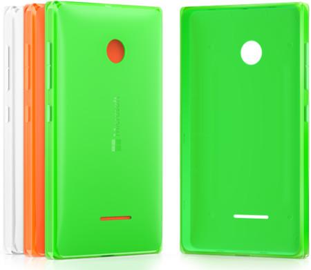 Microsoft kryt CC-3096 pro Lumia 435/532, oranžová