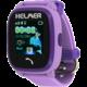 HELMER LK 704 dětské hodinky s GPS lokátorem s možností volní, vodotěsné, fialová