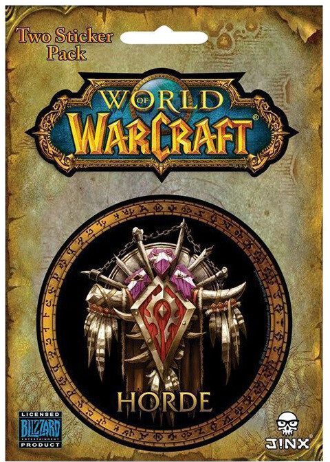 Samolepka World of Warcraft - Horde