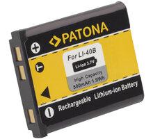 Patona baterie pro Rollei Compactline 800/ Olympus Li-40B/ Li-42B 500mAh - PT1031