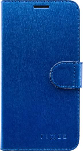 FIXED FIT pouzdro typu kniha Shine pro Huawei P Smart, modrá