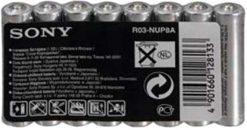 Sony R03NUP8A-EE, R3/AAA, 8ks