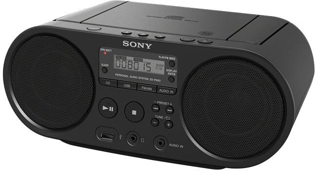 Sony ZS-PS50, černá