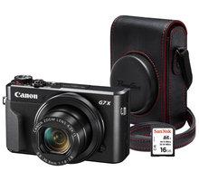 Canon PowerShot G7 X Mark II, Premium Kit, černá