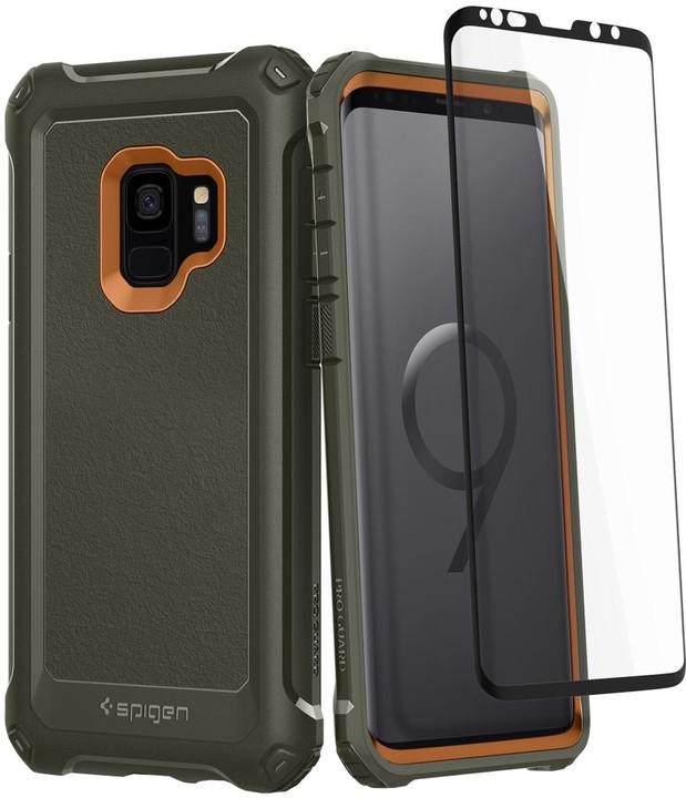 Spigen Pro Guard pro Samsung Galaxy S9, army green