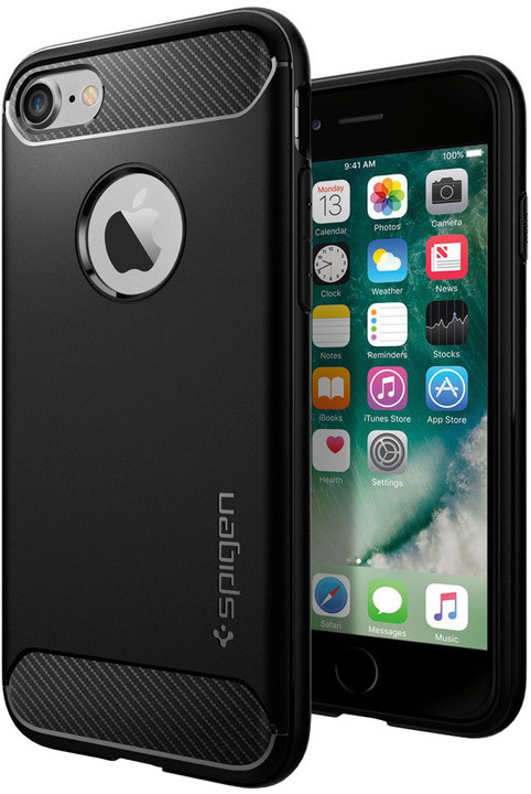 Spigen Rugged Armor pro iPhone 7/8, black