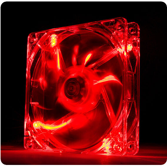 Thermaltake Pure 12 LED Red, 120mm