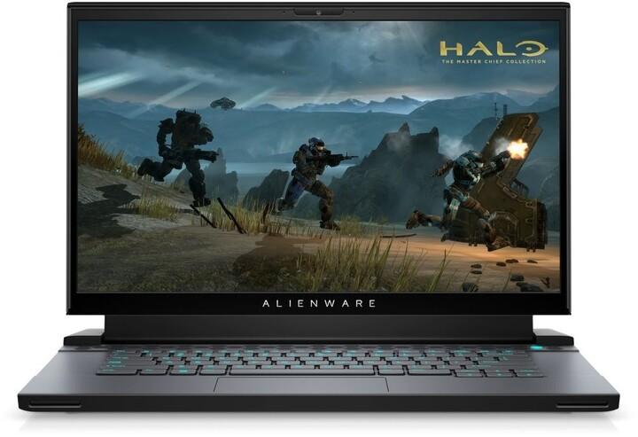 Dell Alienware m15 R4, černá