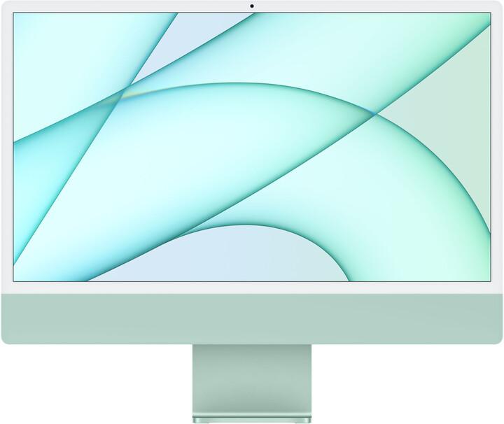"""Apple iMac 24"""" 4,5K Retina M1/16GB/256GB/8-core GPU, zelená"""