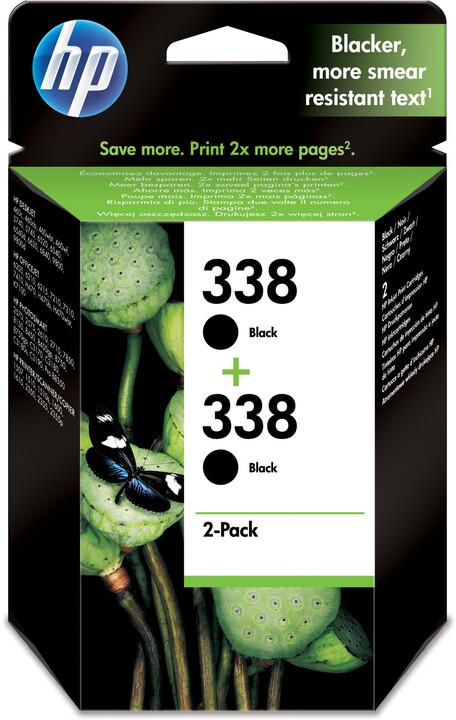 HP CB331EE, no.338, černá – ušetřete až 20 % oproti standardní náplni