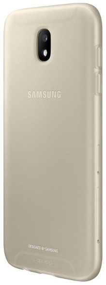 Samsung Galaxy J5 silikonový zadní kryt, Jelly Cover, zlatý