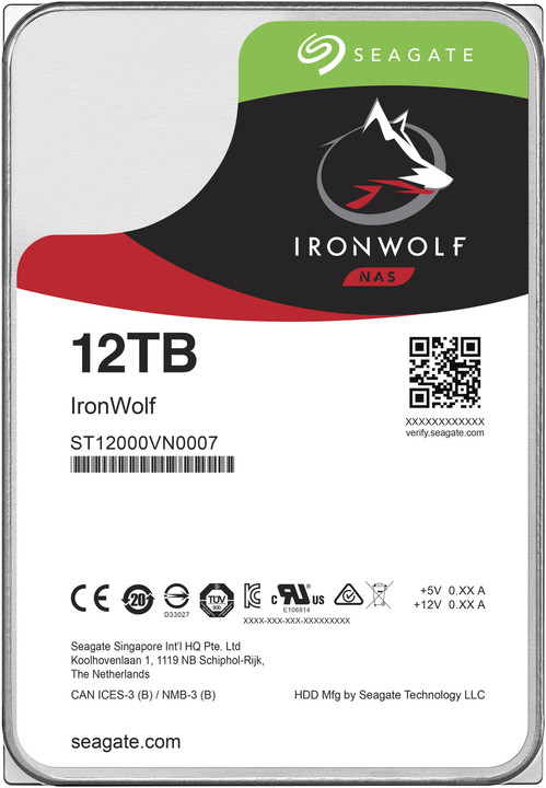 Seagate IronWolf - 12TB
