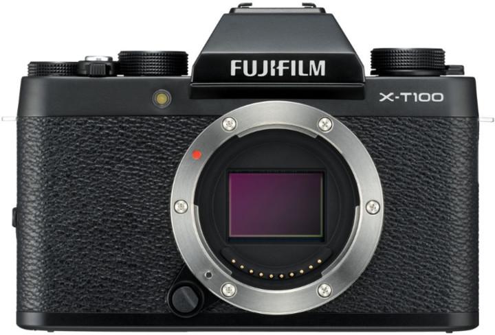 Fujifilm X-T100, tělo, černá