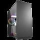 Sharkoon PURE STEEL RGB, okno, černá