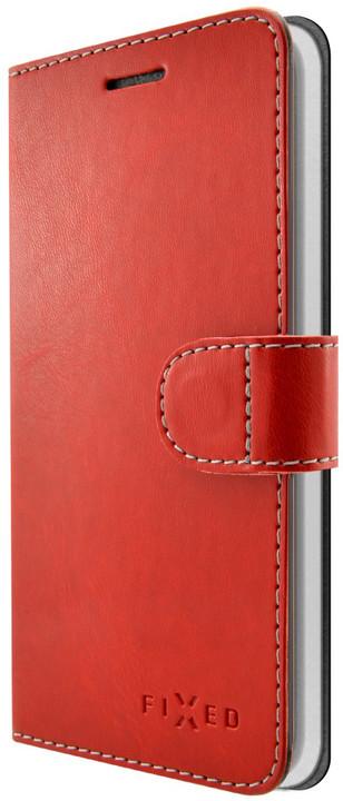 FIXED FIT pouzdro typu kniha pro Honor 6A, červené