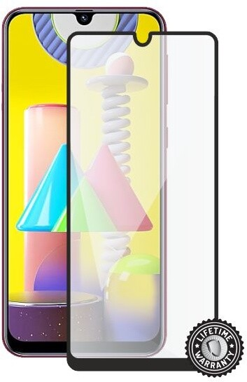 Screenshield ochrana displeje Tempered Glass pro Samsung Galaxy M31, full cover, černá