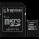 Kingston Micro SDHC Canvas Select 16GB 80MB/s UHS-I + SD adaptér