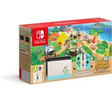 Nintendo Switch (2019), Animal Crossing Edition Elektronické předplatné deníku Sport a časopisu Computer na půl roku v hodnotě 2173 Kč + O2 TV Sport Pack na 3 měsíce (max. 1x na objednávku)