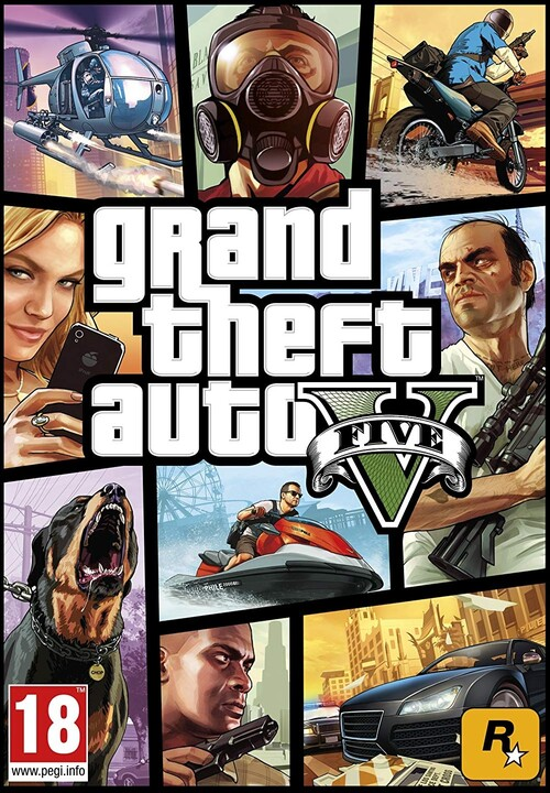 Grand Theft Auto V (PC) - elektronicky