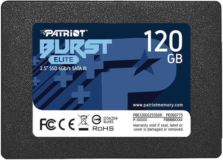 """Patriot Burst Elite, 2,5"""" - 120GB"""