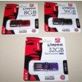 Kingston DataTraveler 101 GEN2 8GB, červená