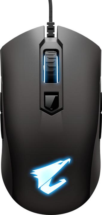 GIGABYTE AORUS M4, černá