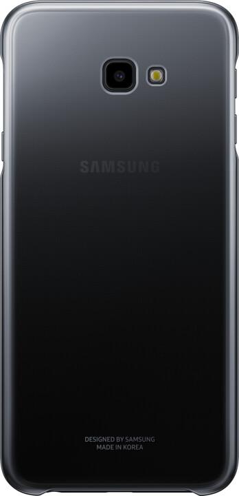 Samsung pouzdro Gradation Cover Galaxy J4+, black