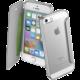 CellularLine Clear Book pouzdro typu kniha pro Apple iPhone 5/5S/SE, průhledné, stříbrné