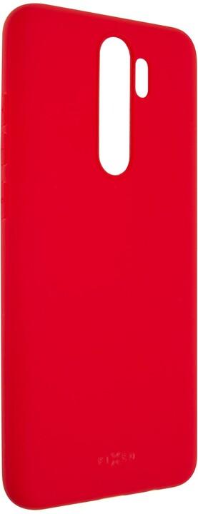 FIXED Story zadní pogumovaný kryt pro Xiaomi Redmi Note 8 Pro, červená