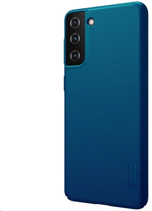 Nillkin Super Frosted zadní kryt pro Samsung Galaxy S21, paví modrá