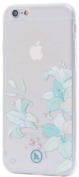 EPICO Pružný plastový kryt pro iPhone 6/6S HOCO BAUHINIA - bílý transparentní