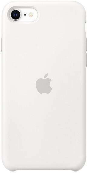 Apple silikonový kryt na iPhone SE (2020), bílá