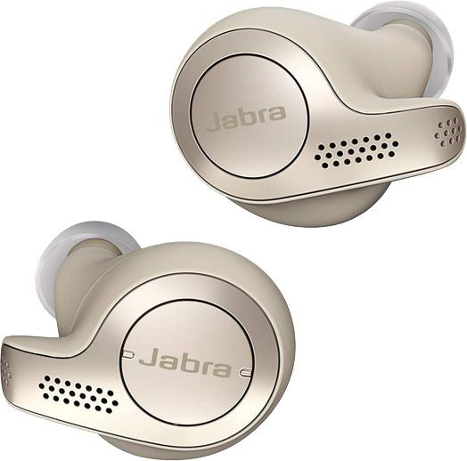 Jabra Elite 65t, zlato/béžová