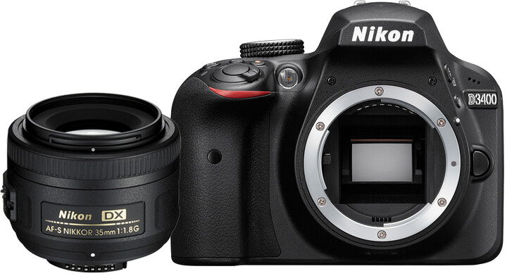 Nikon D3400 + 35mm AF-S DX