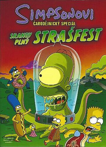 Komiks Simpsonovi: Srandy plný strašfest