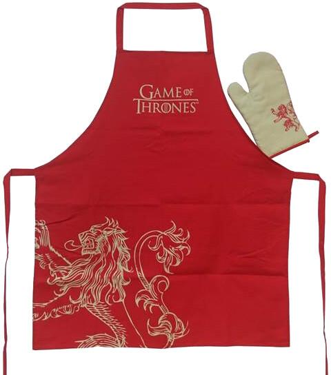 Game of Thrones - Lannister - zástěra a chňapka